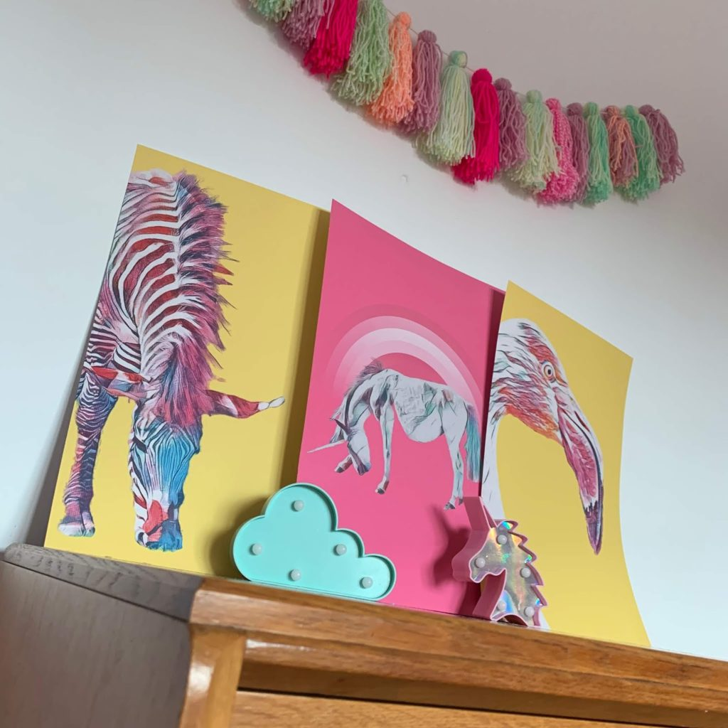 Bright Prints for Children's room