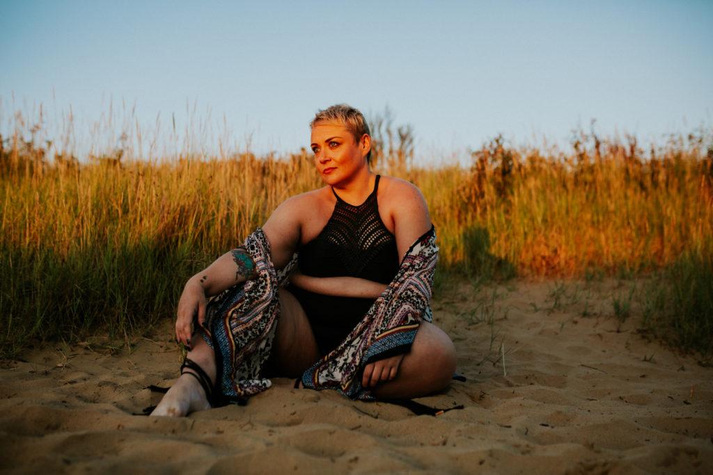 Plus Size Fashion Shoot - Becky Barnes